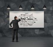 Внутренние продажи схемы Стоковые Изображения RF