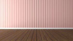 Внутренние тенденции 3d представляют розовый кварц Стоковые Изображения
