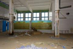 Внутренние ужасные разрушенные предпосылки  Стоковое фото RF