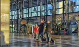 Внутренний авиапорт Прага Vaclav Havel Стоковые Изображения RF