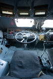 внутренний взгляд военного транспортного средства Стоковые Изображения
