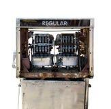 Внутренний взгляд газового насоса Стоковые Фотографии RF