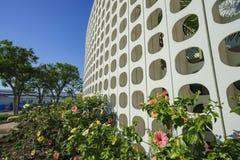Внутренний взгляд здания темы LAX стоковые изображения rf