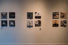 Внутренний взгляд красивого музея Огдена Стоковые Фото