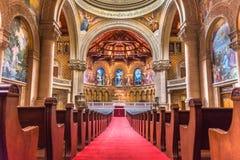 Внутренний взгляд мемориальной церков, Стэнфордский университет Стоковая Фотография RF