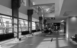 Внутренний взгляд авиапорта в Бангкоке, Таиланде Стоковые Фотографии RF