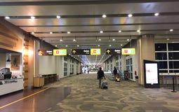 Внутренний взгляд авиапорта в Бали, Индонезии Стоковое Изображение