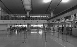 Внутренний взгляд авиапорта в Da Nang, Вьетнаме Стоковая Фотография