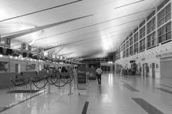Внутренний взгляд авиапорта в Phu Quoc, Вьетнаме Стоковое фото RF