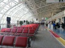 Внутренний взгляд авиапорта Чанчуни Longjia Стоковое Изображение RF