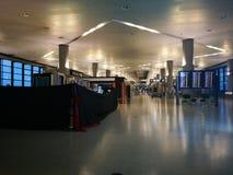 Внутренний взгляд авиапорта Шанхая Пудуна Стоковые Изображения