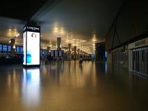Внутренний взгляд авиапорта Шанхая Пудуна Стоковая Фотография RF