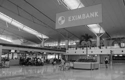 Внутренний взгляд авиапорта Da Nang Стоковое Изображение RF