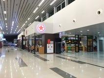 Внутренний взгляд авиапорта Ranh кулачка в Nha Trang, Вьетнаме Стоковые Фото
