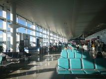 Внутренний взгляд авиапорта Yantai Стоковые Фото