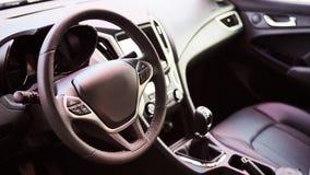 Внутренний взгляд автомобиля Стоковые Изображения RF