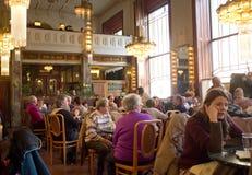 Муниципальный дом в Праге Стоковая Фотография RF
