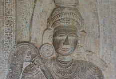 Внутренний взгляд виска священной реликвии зуба Стоковые Изображения RF