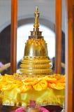 Внутренний взгляд виска священной реликвии зуба Стоковые Изображения