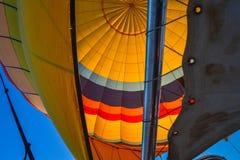 Внутренний взгляд воздушного шара, Capadoccia, Турция Стоковое фото RF