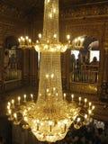 Внутренний взгляд золотого виска, Амритсара, Пенджаба, Индии Стоковое Изображение