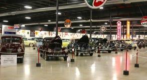 Внутренний взгляд музея автомобиля ниссы Стоковые Фото