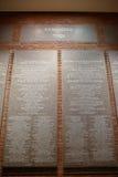 Внутренний взгляд музея холокоста мемориального, в DC Вашингтона, США Стоковые Изображения