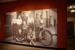 Внутренний взгляд музея холокоста мемориального, в DC Вашингтона, США Стоковое Изображение RF
