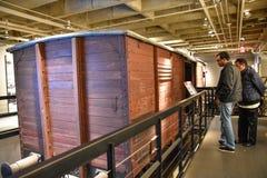 Внутренний взгляд музея холокоста мемориального, в DC Вашингтона, США Стоковая Фотография