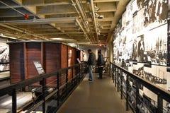 Внутренний взгляд музея холокоста мемориального, в DC Вашингтона, США Стоковое Изображение