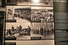Внутренний взгляд музея холокоста мемориального, в DC Вашингтона, США Стоковые Изображения RF