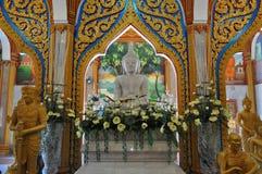 Внутренний висок Пхукет Таиланд Chalong Стоковое фото RF