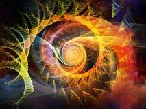 Внутренний вортекс движения Стоковая Фотография RF