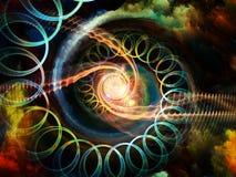 Внутренний вортекс движения Стоковые Изображения