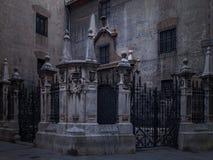 Внутренний двор в Валенсии Стоковое Изображение RF