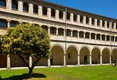 Внутренний двор монастыря Сан Esteban Стоковое фото RF