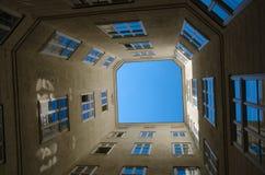 Внутренний двор Стоковые Изображения