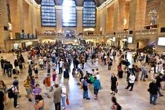 Внутренний грандиозный центральный стержень в Нью-Йорке Стоковые Изображения RF