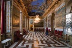Внутренний дворец Drottningholm стоковые изображения rf