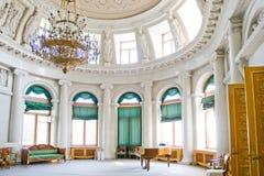 Внутренний дворец Yelagin стоковые фотографии rf