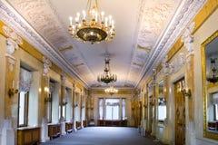 Внутренний дворец Yelagin стоковая фотография