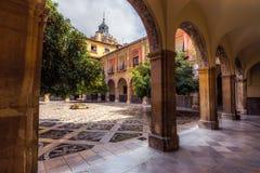 Внутренний двор больницы Сан-Хуана De Dios 10 стоковые изображения