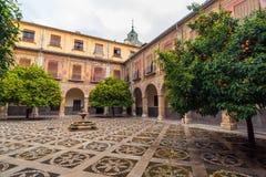 Внутренний двор больницы Сан-Хуана De Dios 1 стоковое изображение