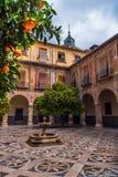 Внутренний двор больницы Сан-Хуана De Dios 3 стоковые фото