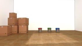 Внутренний дизайн комнаты Стоковая Фотография