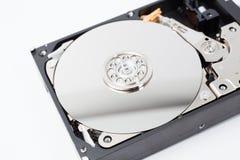 Внутренний дисковод жесткого диска (HDD) - аппаратные компоненты компьютера Стоковые Фото