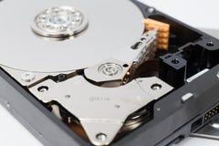 Внутренний дисковод жесткого диска (HDD) - аппаратные компоненты компьютера Стоковая Фотография