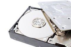 Внутренний дисковод жесткого диска (HDD) - аппаратные компоненты компьютера Стоковое Изображение