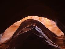 Внутренний каньон шлица Стоковое Изображение RF