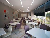 Внутренний конференц-зал Стоковое Изображение RF